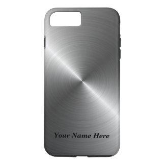 Voeg toe Uw Metaal van het Staal van de Naam iPhone 8/7 Plus Hoesje