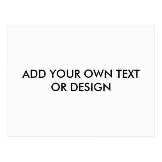 Voeg uw eigen tekst toe of het ontwerp, past aan briefkaart