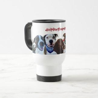 Voeg uw favoriete huisdierenfoto's/bericht mug1r reisbeker