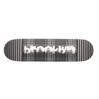 Voeg Uw Grijze Plaid van de Stad toe 18,1 Cm Old School Skateboard Deck