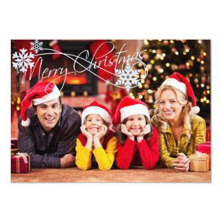 Voeg Uw Kerstkaart van de Foto toe Kaart