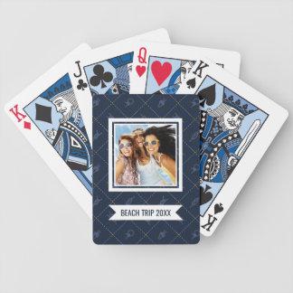 Voeg Uw Naam   het ZeevaarttoePatroon van de Knoop Poker Kaarten