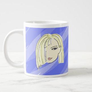 Voeg Uw Naam op Goede ochtend-Mok toe Grote Koffiekop