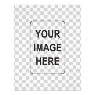Voeg uw tekst en/of beelden toe flyer 21,6 x 27,9 cm