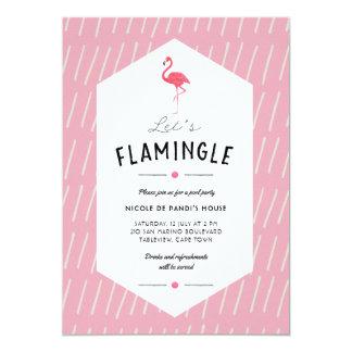Voegen Flamingle de Uitnodiging van de Partij