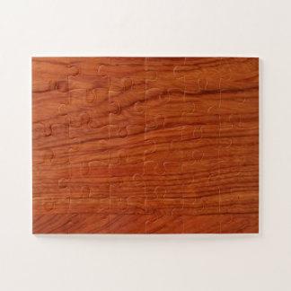 Voegt de houten Lege Sjabloon DIY van de okkernoot Puzzel
