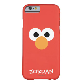 Voegt Groot Gezicht   van Elmo Uw Naam toe Barely There iPhone 6 Hoesje