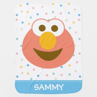 Voegt Groot Gezicht | van het Baby van Elmo Uw Inbakerdoek