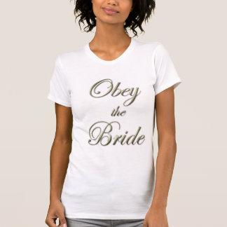 Voer de Tanktop van de Bruid uit