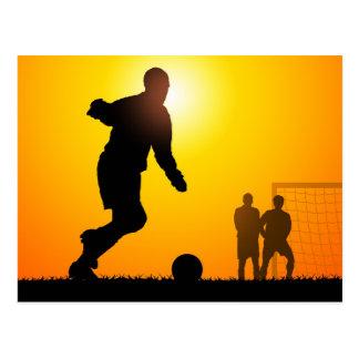 Voetbal Briefkaart