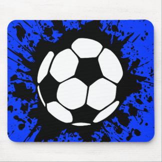 voetbal: cirkels: muismat