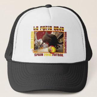 Voetbal Futbol van de Stier van La Furia Roja het Trucker Pet