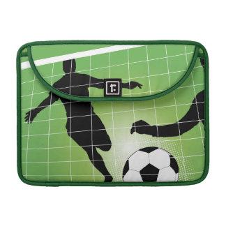 Voetbal - het Balspel van het Voetbal Sleeve Voor MacBooks
