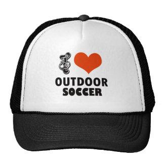voetbal ontwerp trucker petten