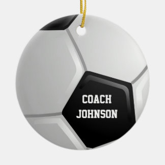 Voetbal Rond Keramisch Ornament