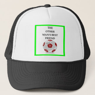voetbal trucker pet