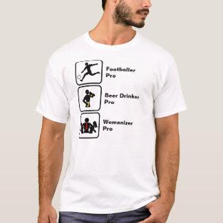 Voetballer, de Drinker van het Bier, Womanizer T Shirt
