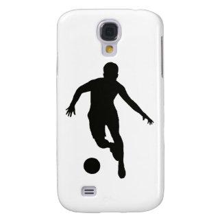 VOETBALLER (silhouet) Galaxy S4 Hoesje