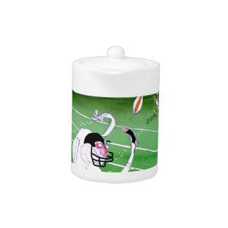 Voetbalveld - geconcentreerd verblijf, tony