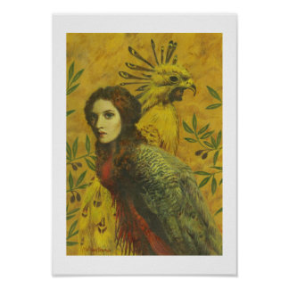 Vogel Dame Fine Art Print