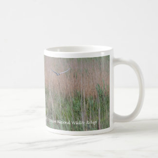 Vogel die over het Toevluchtsoord vliegen Koffiemok