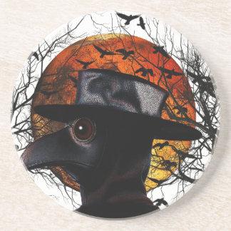 Vogel-man Zandsteen Onderzetter