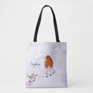 Vogel van Robin van de douane voegt de leuke in Draagtas