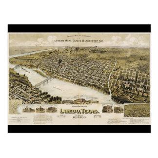 Vogelperspectief van de Stad van Laredo Texas Briefkaart