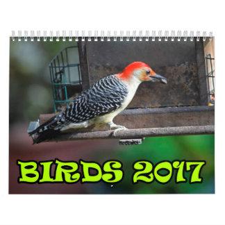 Vogels 2017 kalender