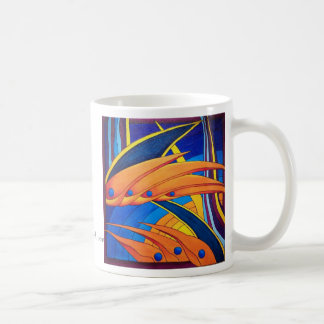 """Vogels en Paradijs "" Koffiemok"