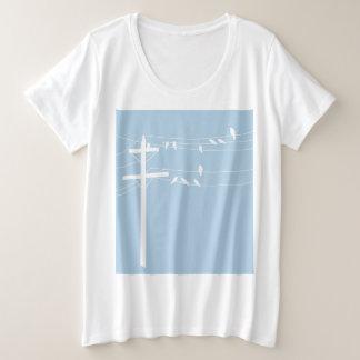 Vogels Grote Maat T-shirt