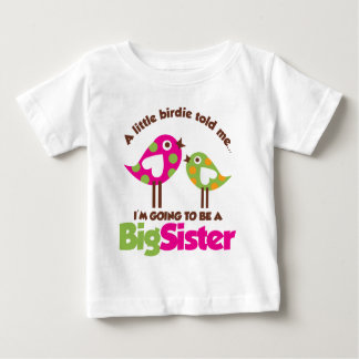 Vogeltje die een Grote Zuster gaan zijn Shirt
