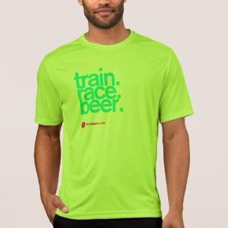 VOLG ME AAN BIER die Technologie T in werking T Shirt