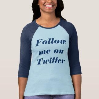 Volg me op Tjilpen T Shirt
