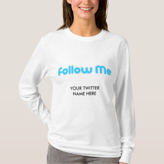 volg me (tjilpen) t shirt