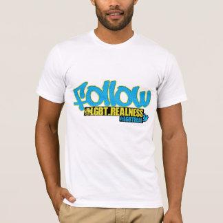 Volg ons t shirt