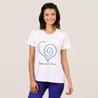 Volg u de Grafische T-shirt van het Hart