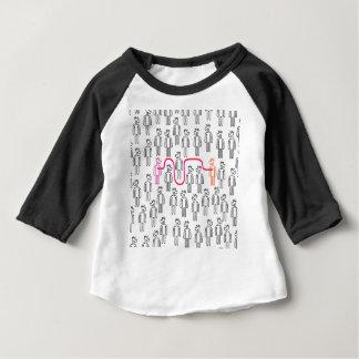 Volg Uw Eenhoorn van het Hart Baby T Shirts