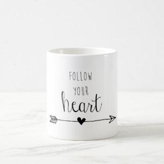 Volg Uw Hart Koffiemok