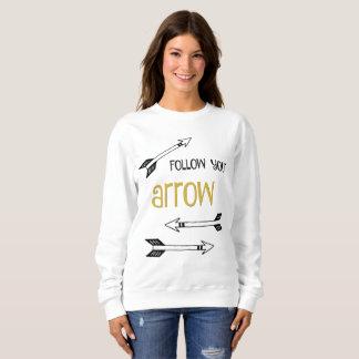 Volg Uw Sweatshirt van de Pijl