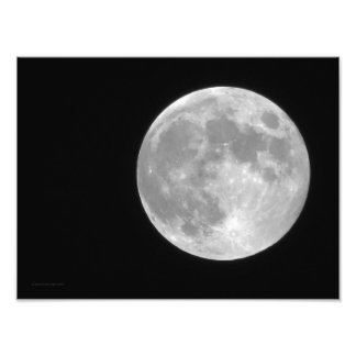 Volle maan foto