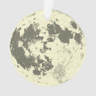 Volle maan Heldere Supermoon Ornament
