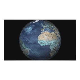 Volledige Aarde die verdamping tonen Foto