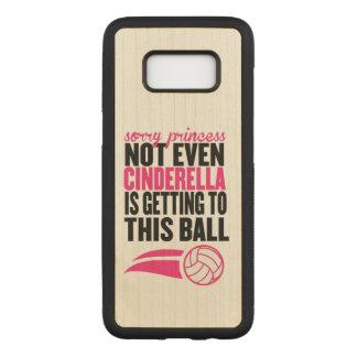 Volleyball: De droevige Bal van de Prinses Carved Samsung Galaxy S8 Hoesje