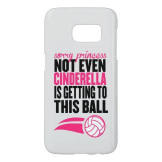 Volleyball: De droevige Bal van de Prinses Samsung Galaxy S7 Hoesje