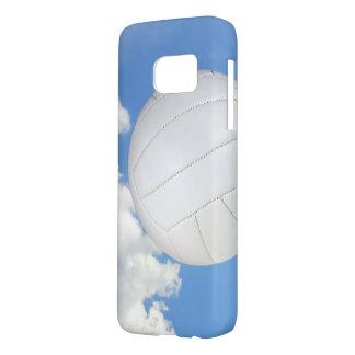 volleyball in hemel samsung galaxy s7 hoesje