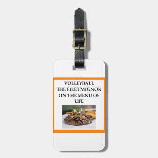 volleyball kofferlabel