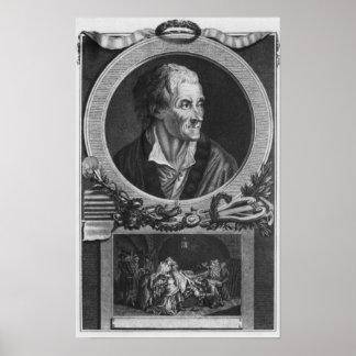 Voltaire en de zaak Calas Poster
