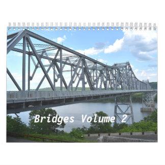 Volume 2 van bruggen Kalender