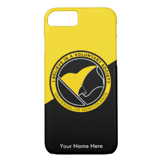 Voluntaryist iPhone 8/7 Hoesje